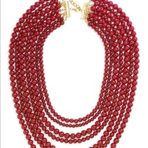Baublebar Bold Beaded Strands - Maroon